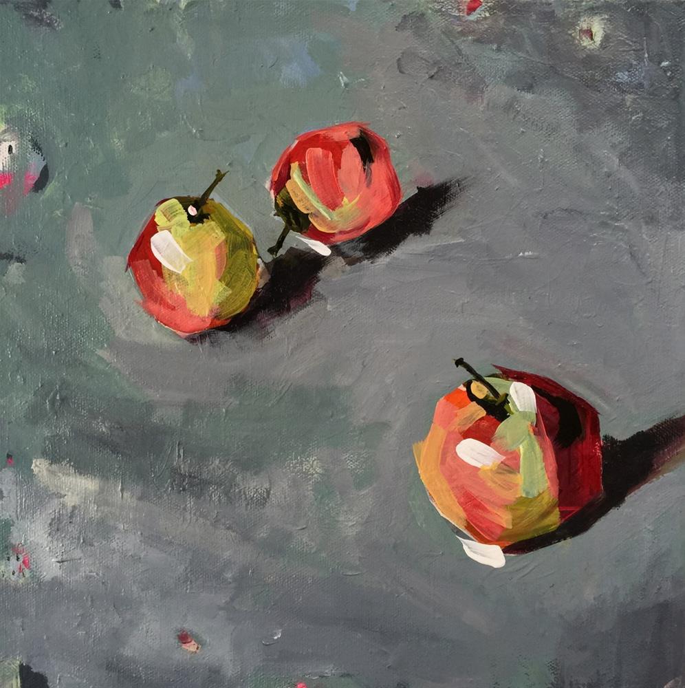 """""""36 Them Apples"""" original fine art by Jenny Doh"""