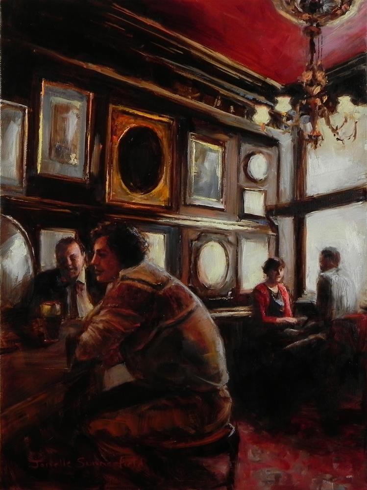 """The Long Hall"" original fine art by Jonelle Summerfield"