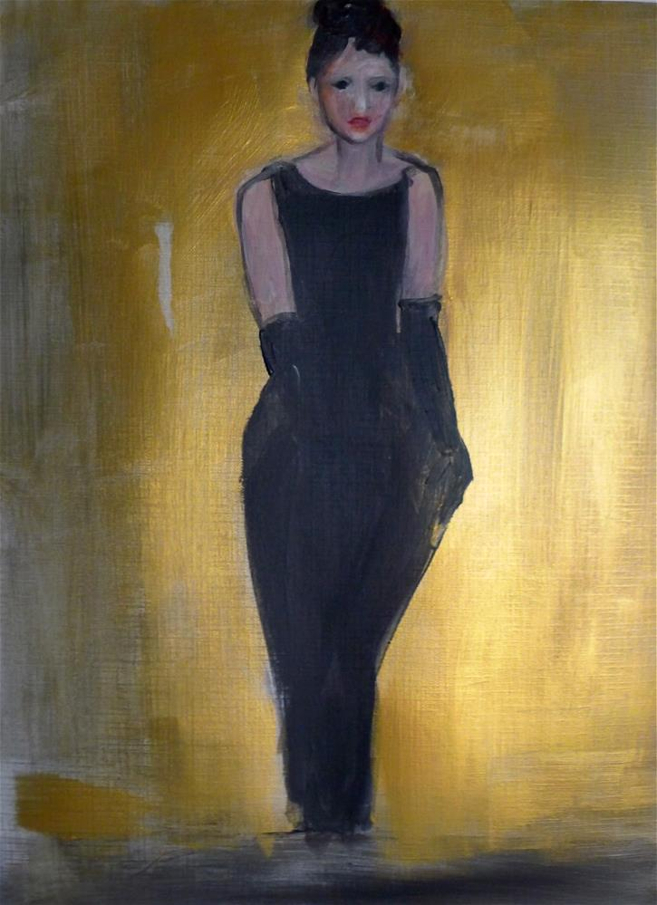 """The small black dress"" original fine art by Ulrike Schmidt"