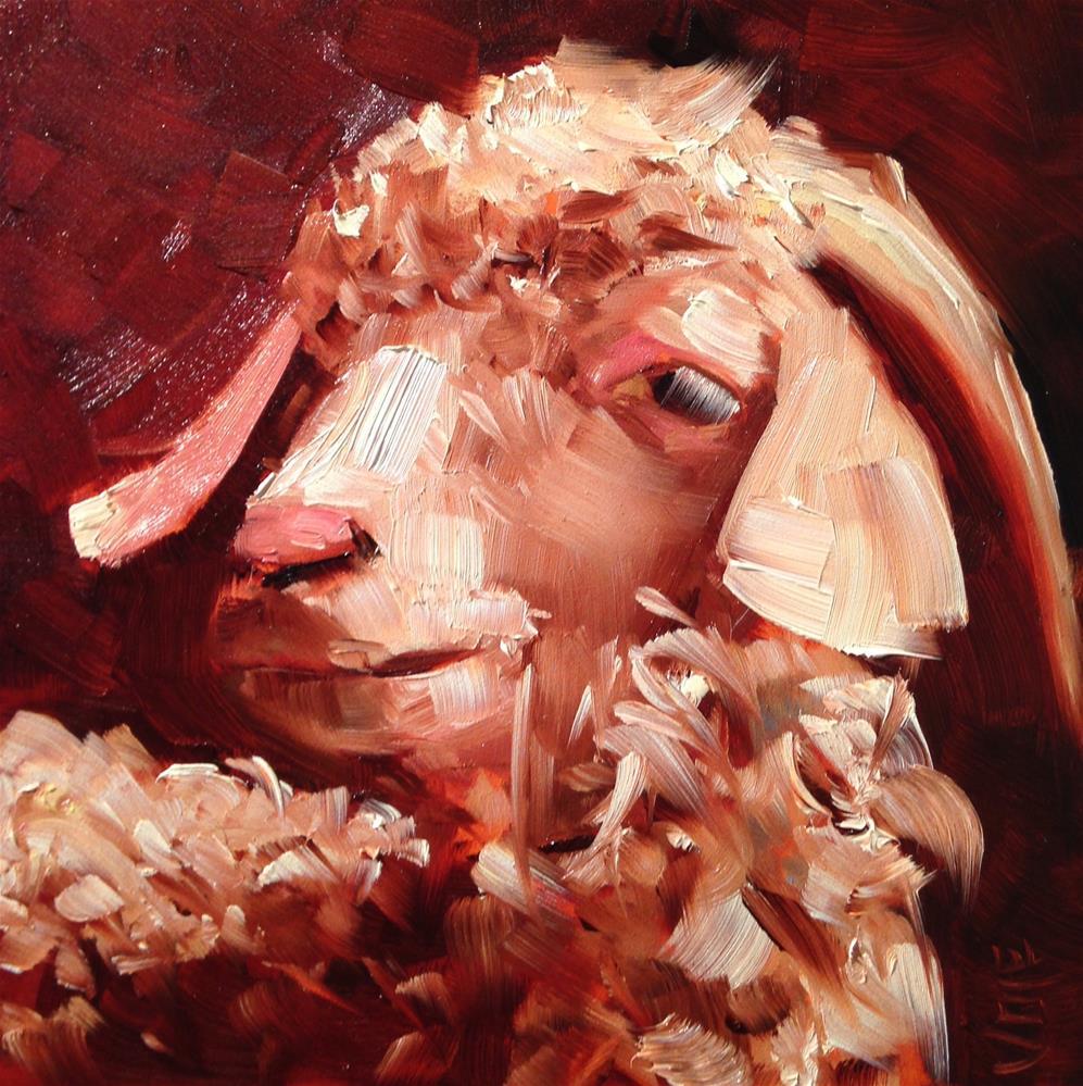 """""""#232 Frieda"""" original fine art by Patty Voje"""
