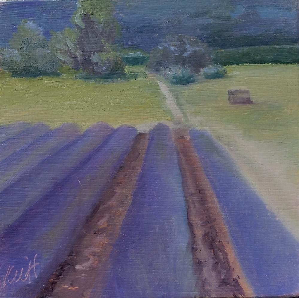"""Sault Lavender"" original fine art by Kim Homes"