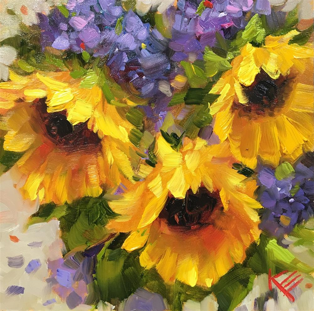 """Summer Dreamin'"" original fine art by Krista Eaton"