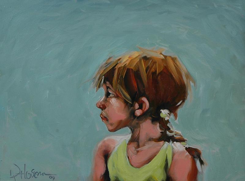 """Atty Tude"" original fine art by Kayleen Horsma"