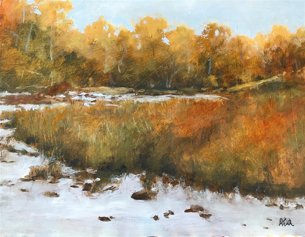"""november frost"" original fine art by Betty Argiros"