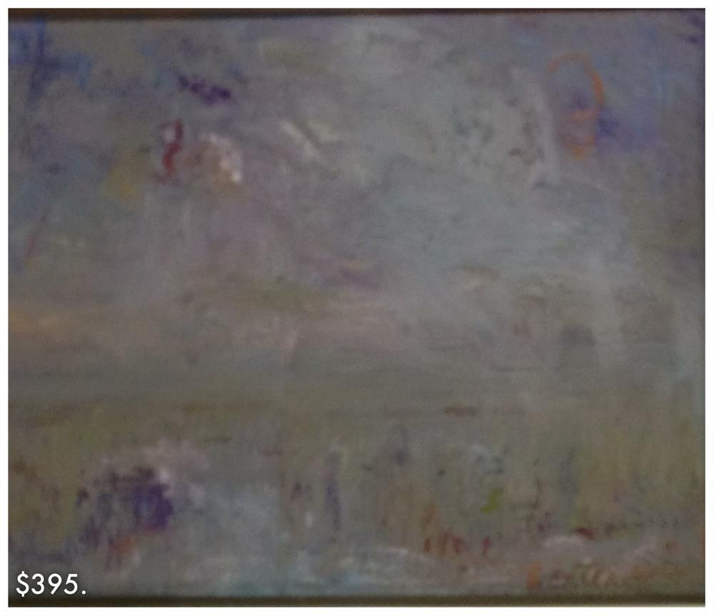 """""""Modern Marsh"""" original fine art by Ester Deen"""