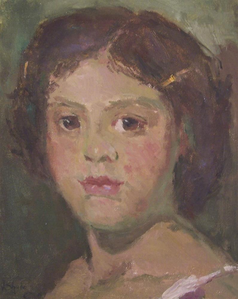 """""""portrait"""" original fine art by John Shave"""