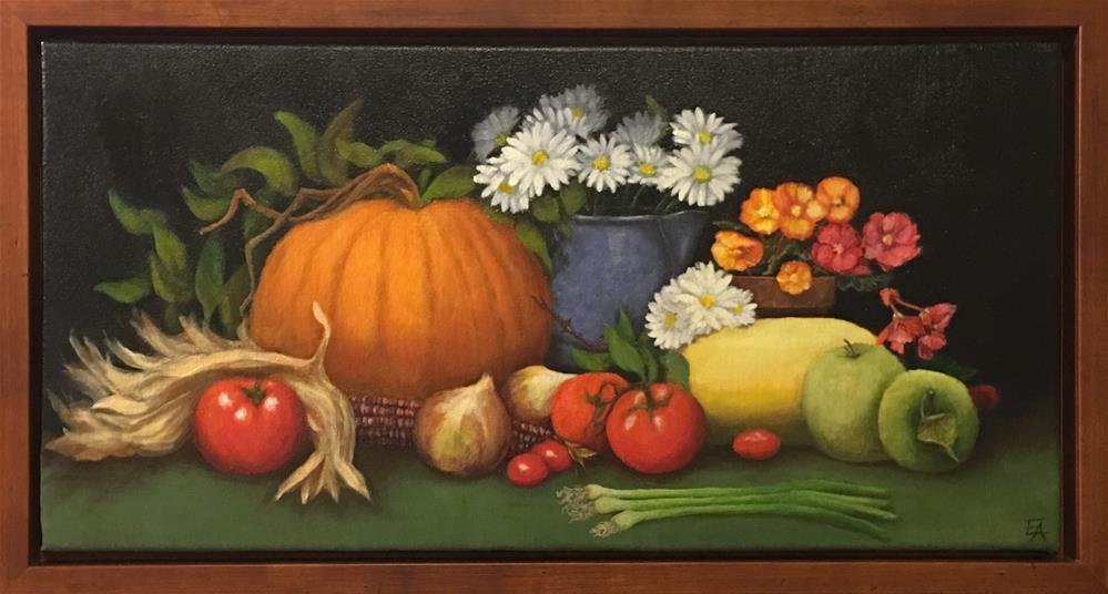 """Bountiful Harvest"" original fine art by Elizabeth Elgin"