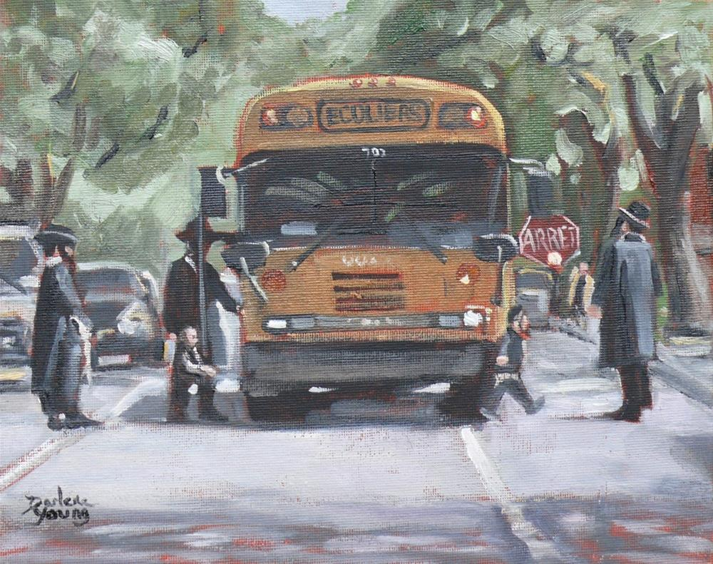"""""""1060 Outremont, 8x10, oil on board"""" original fine art by Darlene Young"""