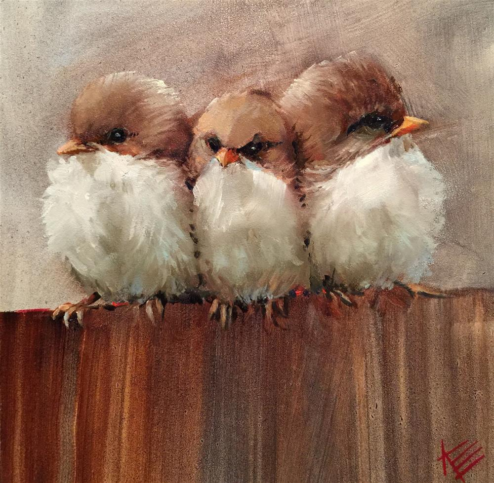 """""""Stuck in the Middle"""" original fine art by Krista Eaton"""