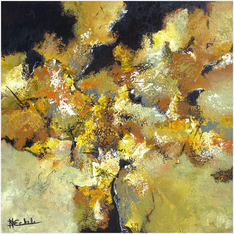 """Sunny Color"" original fine art by Nancy Eckels"