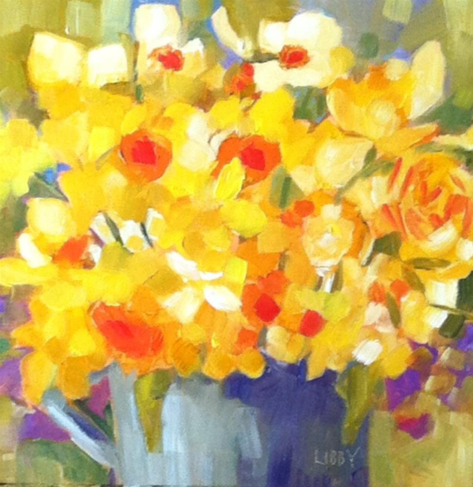 """U R My Sunshine"" original fine art by Libby Anderson"