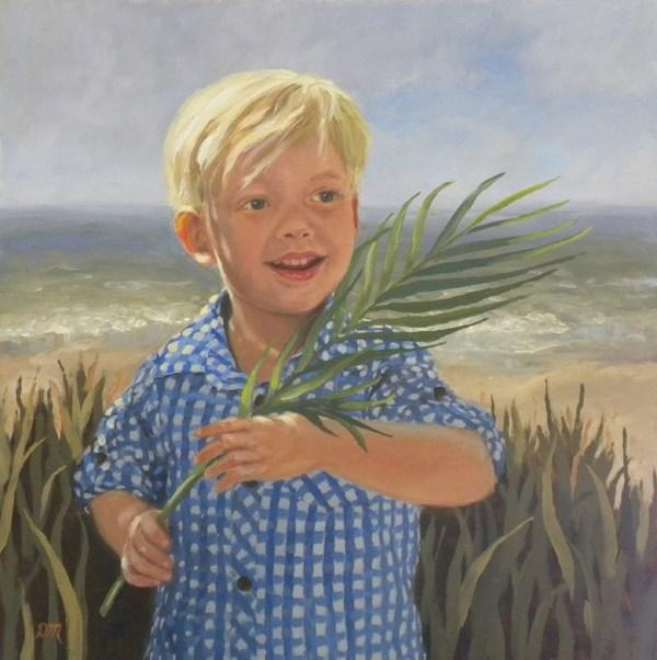 """""""Jack"""" original fine art by Diane Mannion"""