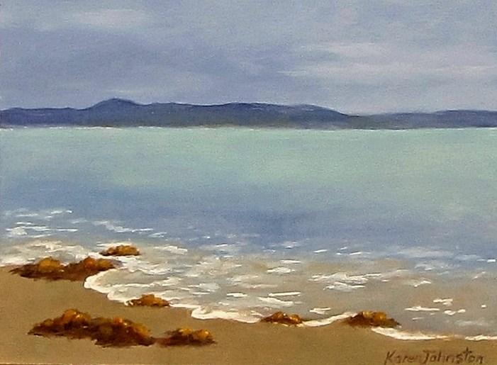 """""""Overcast Sky"""" original fine art by Karen Johnston"""