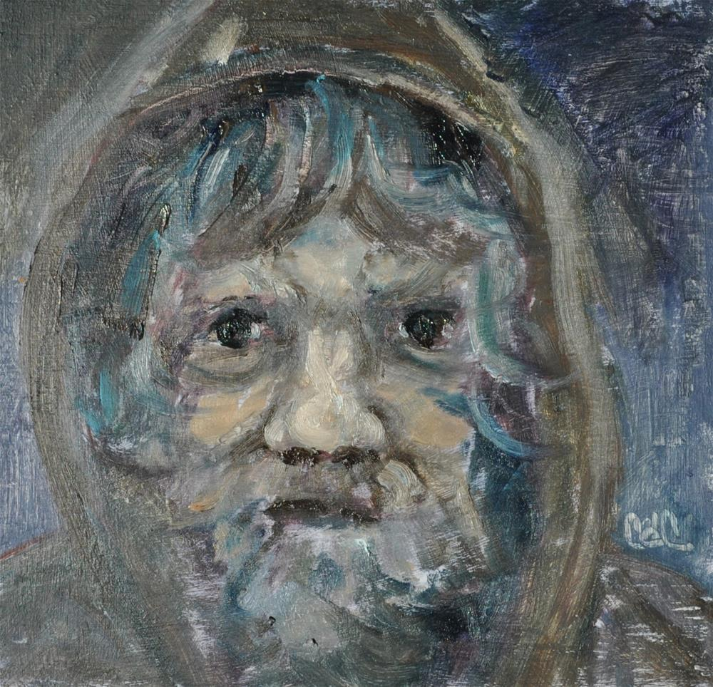 """""""Man From The North"""" original fine art by Catherine Crookston"""