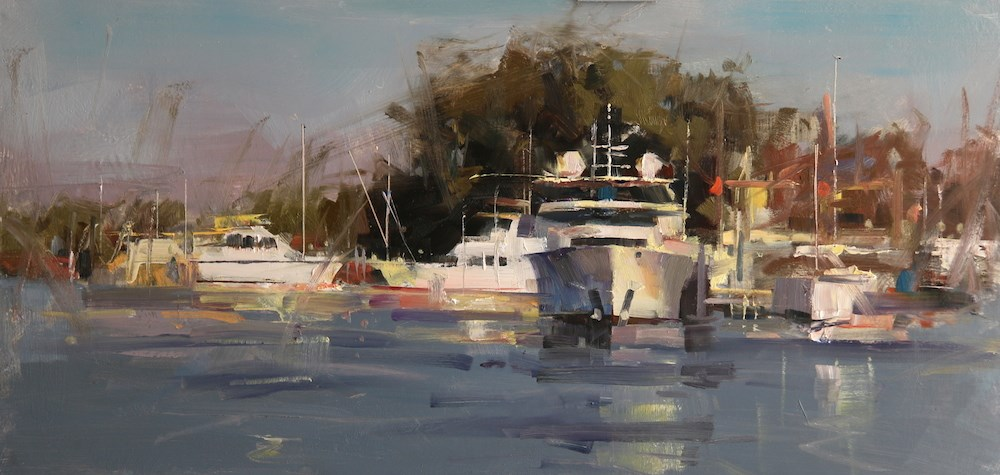 """""""St Michaels Exercise 2"""" original fine art by Qiang Huang"""