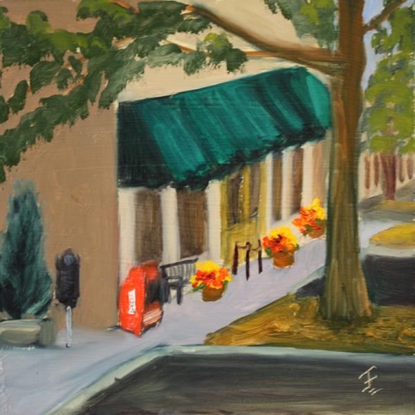 """""""Round Rock Chalk Walk 3"""" original fine art by Jane Frederick"""