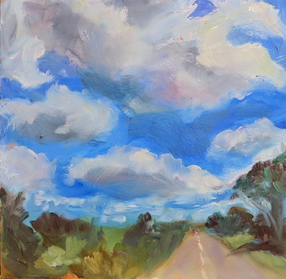 """615 On the Road"" original fine art by Diane Campion"