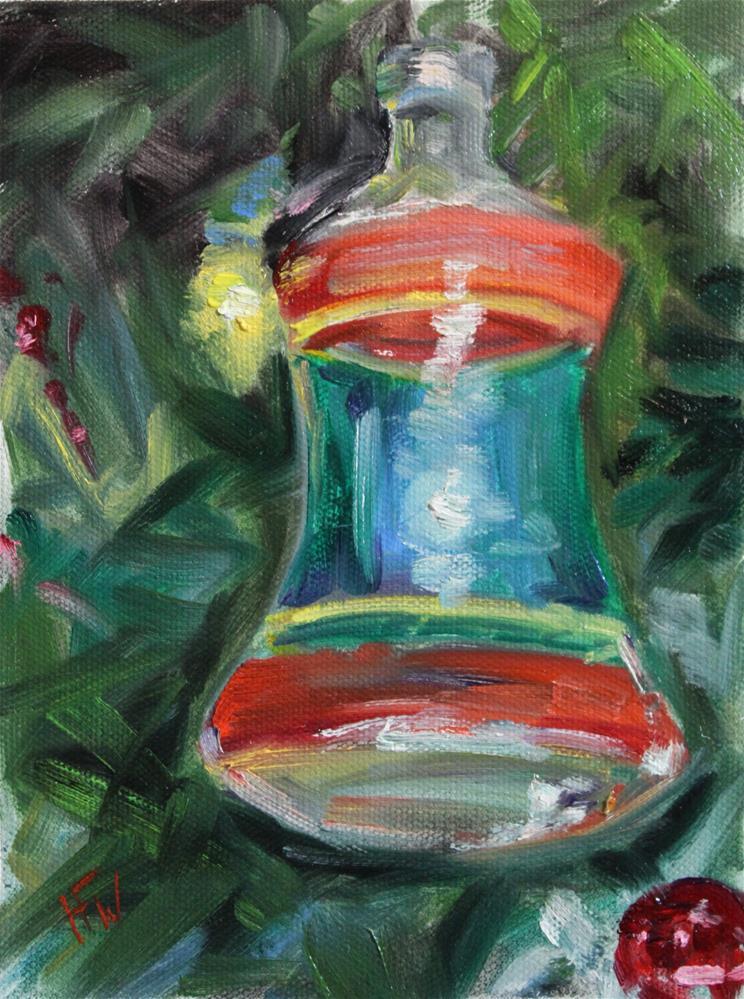 """""""Glass Bell"""" original fine art by H.F. Wallen"""
