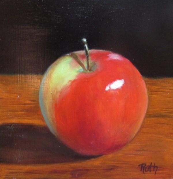 """""""Honeycrisp"""" original fine art by Ruth Stewart"""