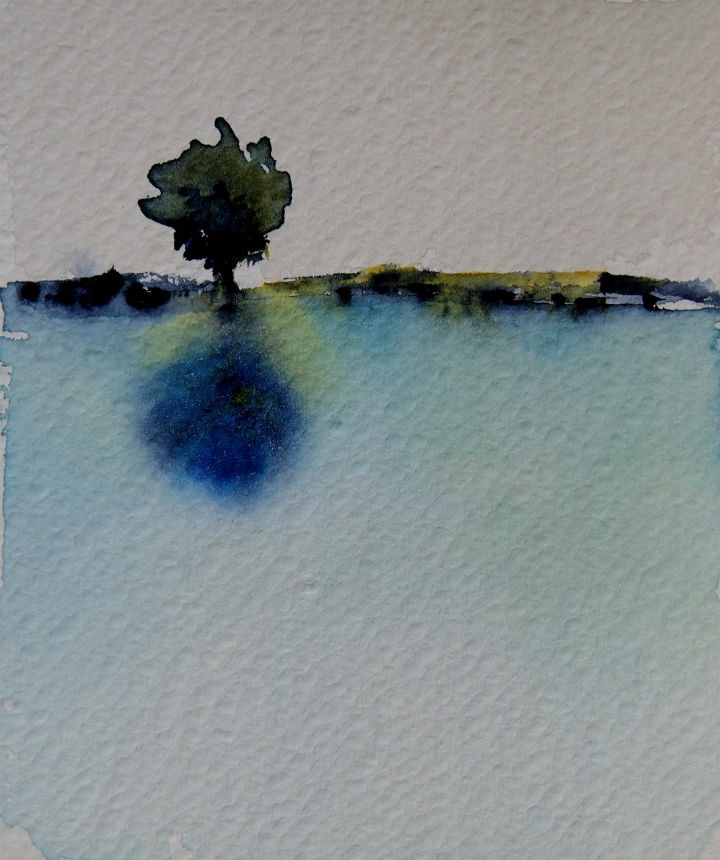 """""""Lonely Tree"""" original fine art by Amy Bryce"""