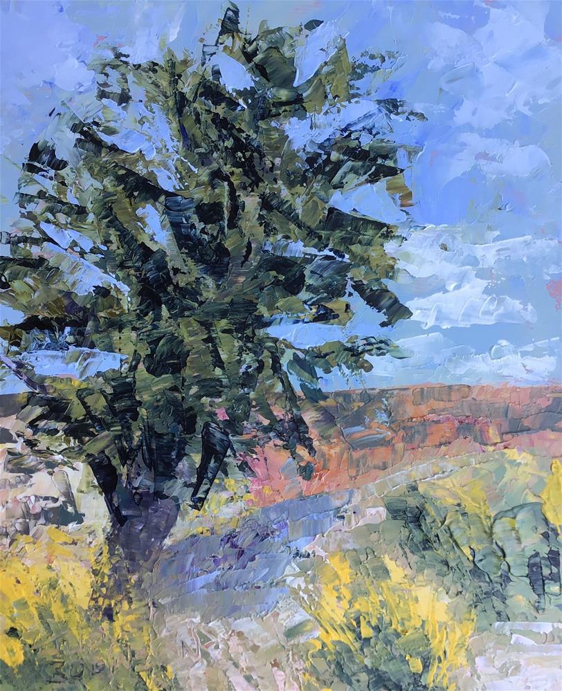 """South Rim Grand Canyon"" original fine art by Judy Robinson"