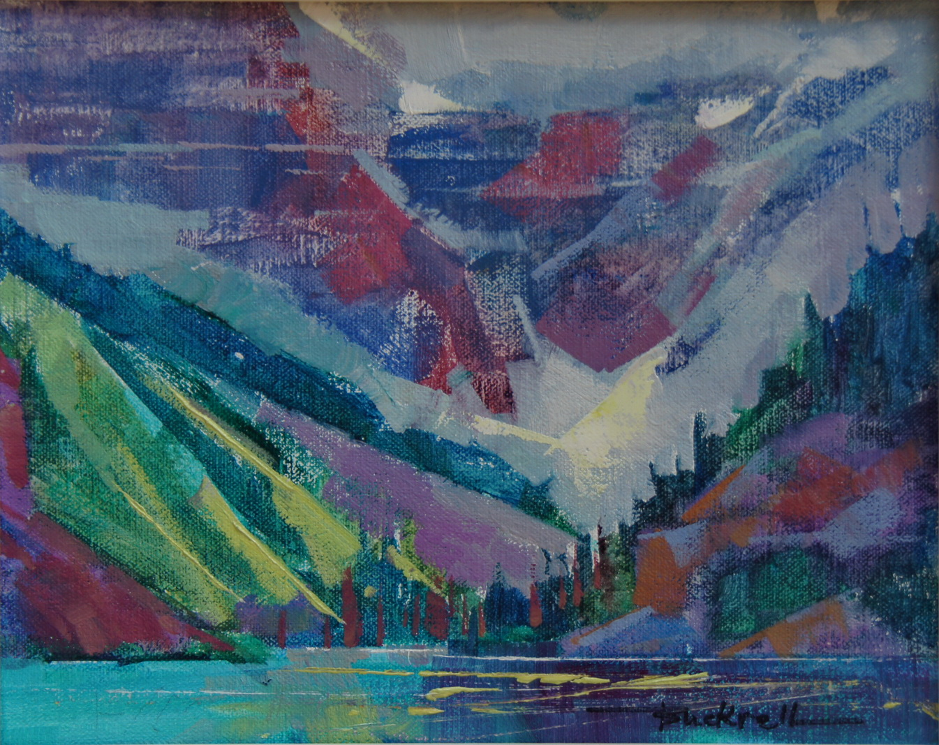 """Lake Louise"" original fine art by Brian Buckrell"