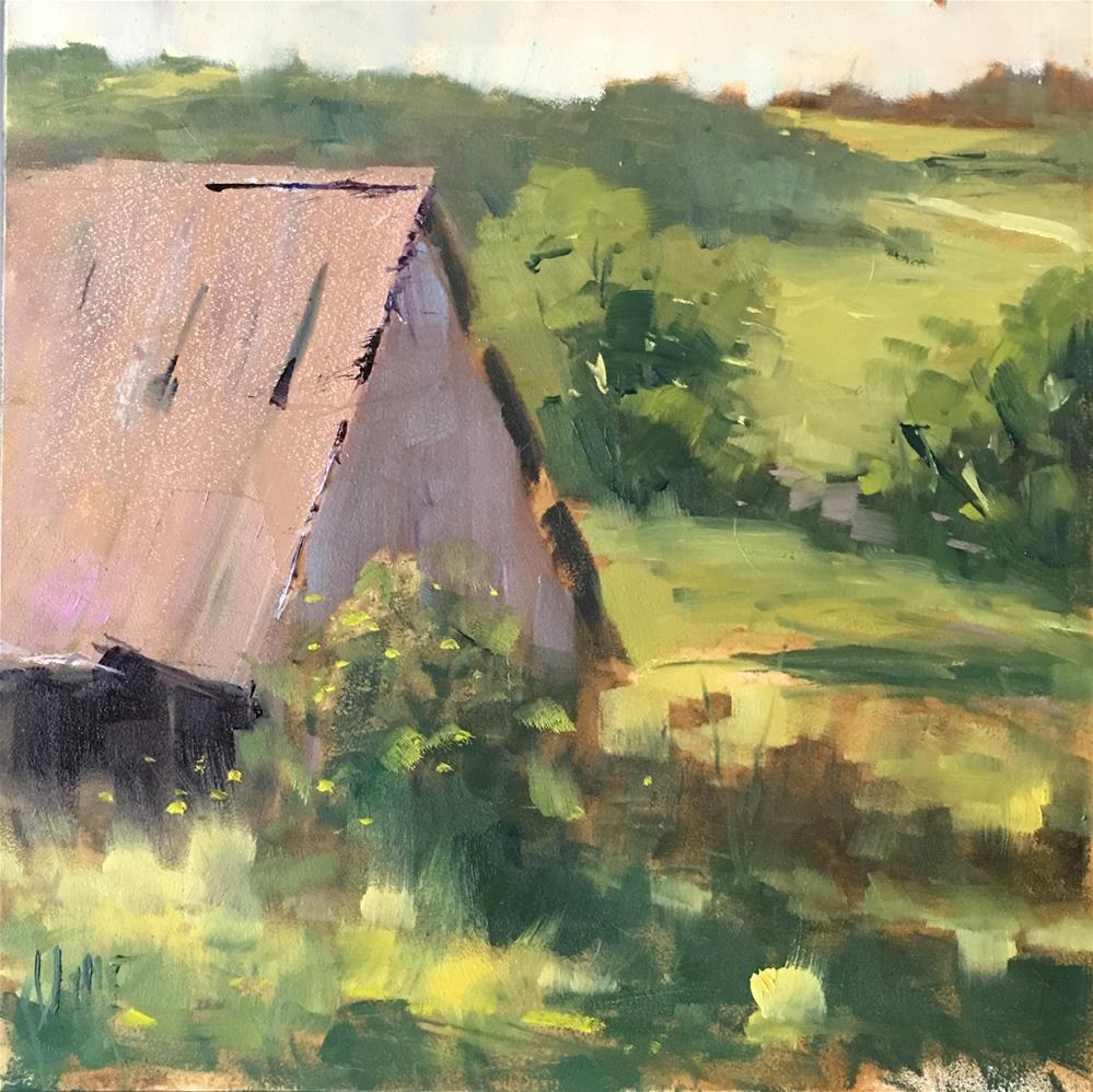 """""""#358 Colorado View"""" original fine art by Patty Voje"""