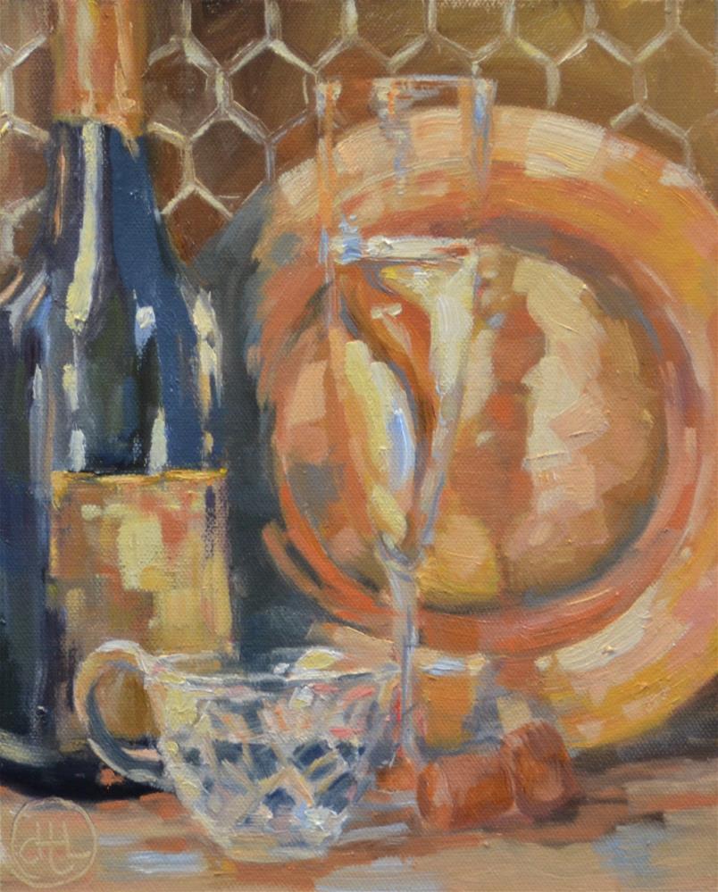 """""""reason to celebrate"""" original fine art by Dottie  T  Leatherwood"""
