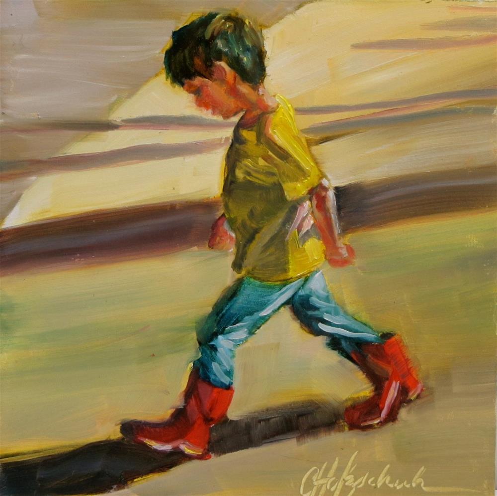 """""""Determination"""" original fine art by Christine Holzschuh"""