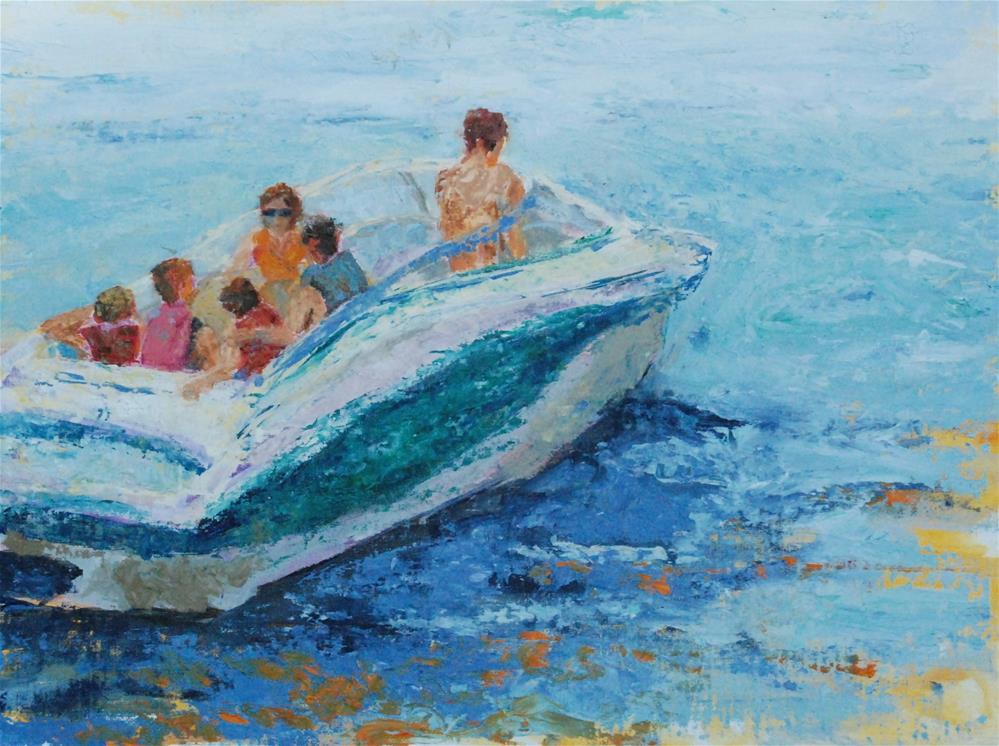 """""""Heading Out"""" original fine art by Shawn Deitch"""