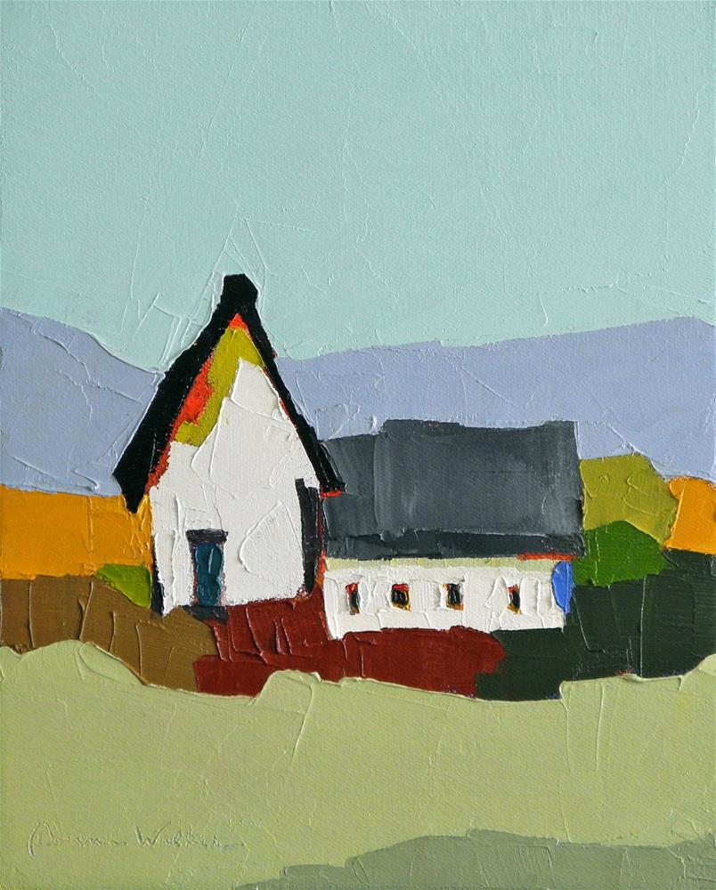 """Country Harmony II"" original fine art by Donna Walker"