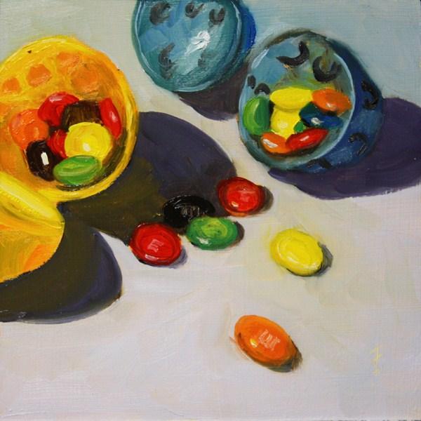 """Easter Challenge"" original fine art by Jane Frederick"