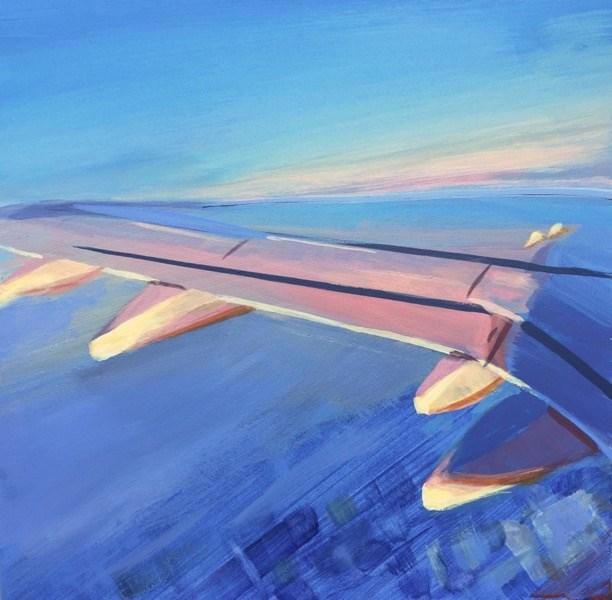 """""""Light In Flight"""" original fine art by Mary Pargas"""