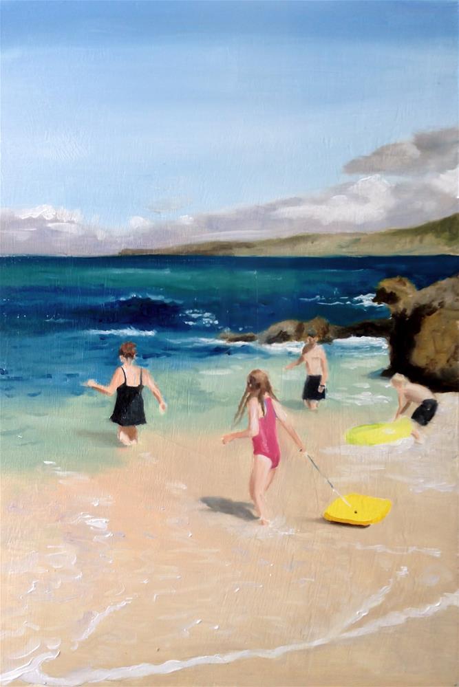 """Sea Fun"" original fine art by James Coates"