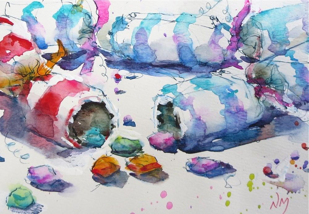 """new days"" original fine art by Nora MacPhail"