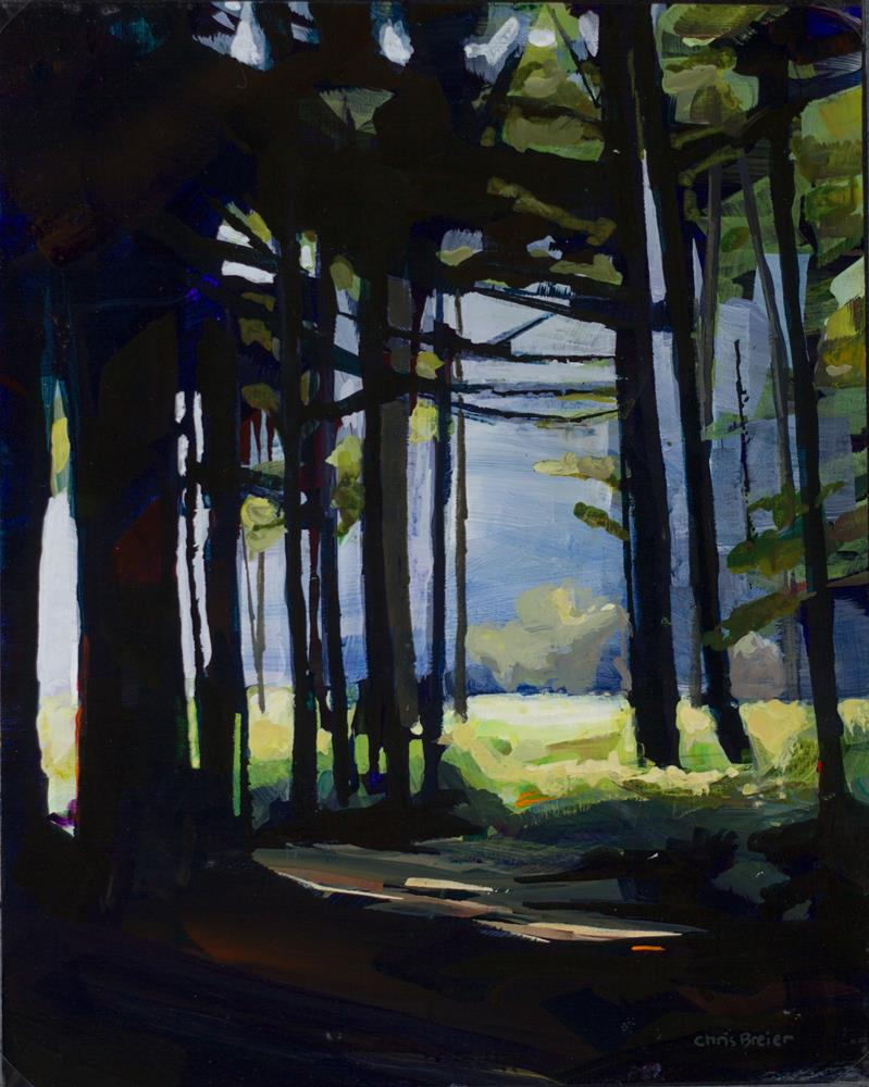 """The Clearing"" original fine art by Chris Breier"