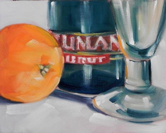 """Mimosa"" original fine art by Cheryl Wilson"