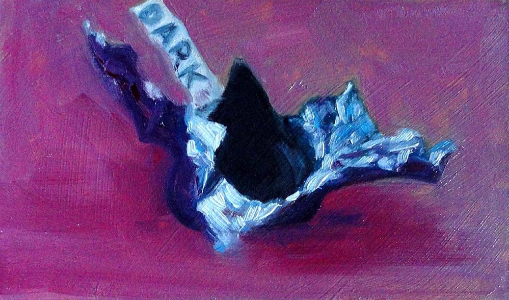 """""""Dark & Sweet"""" original fine art by Cietha Wilson"""