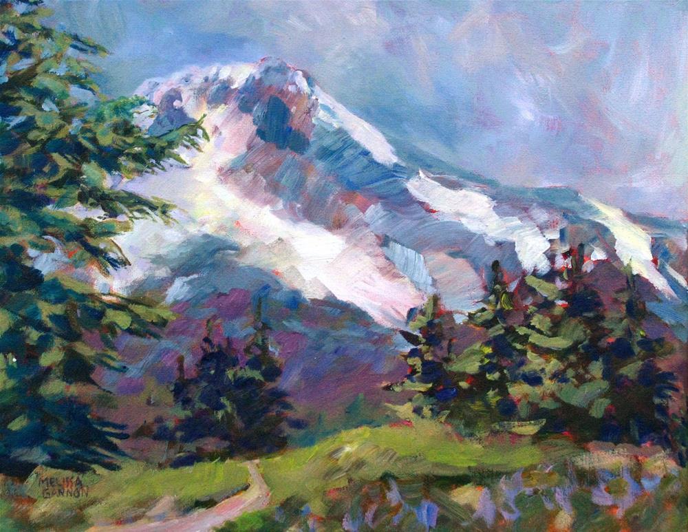 """""""Alpine View"""" original fine art by Melissa Gannon"""