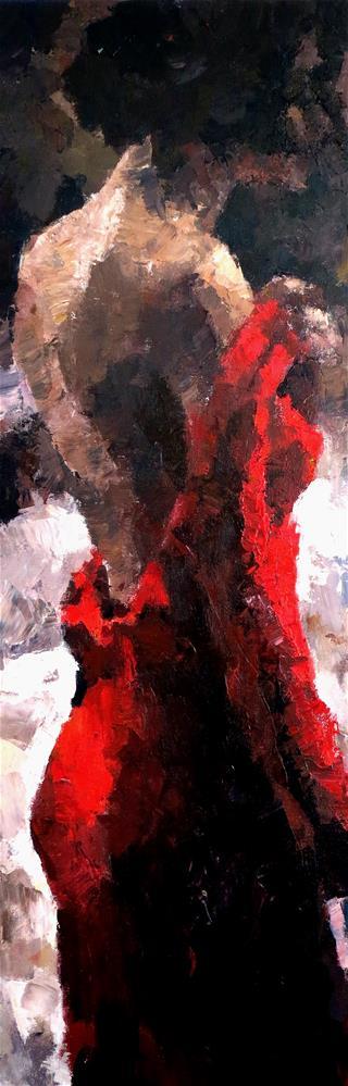 """Once an Ingenue"" original fine art by Nava Judith"