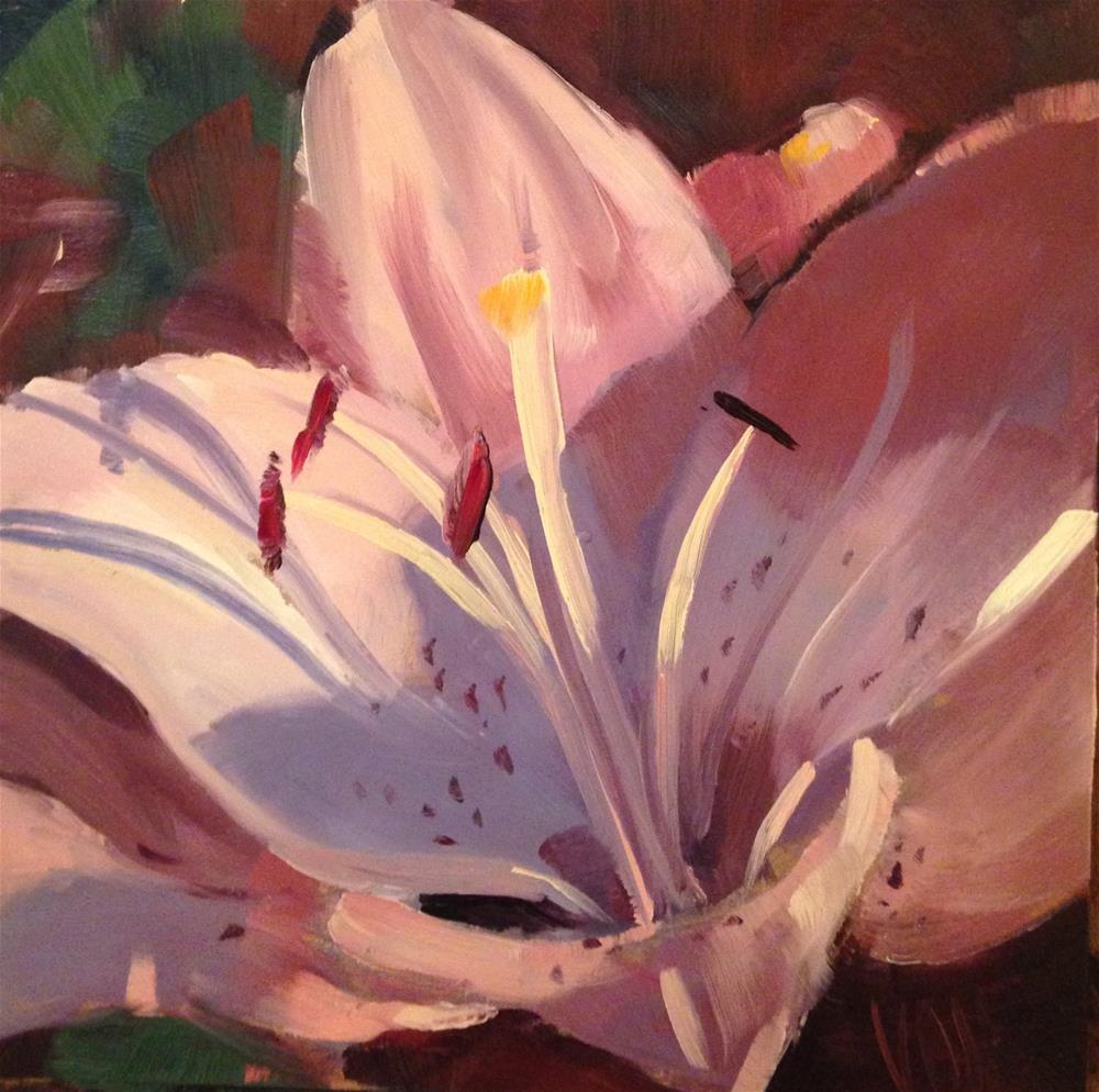 """#160 Lots Going On"" original fine art by Patty Voje"