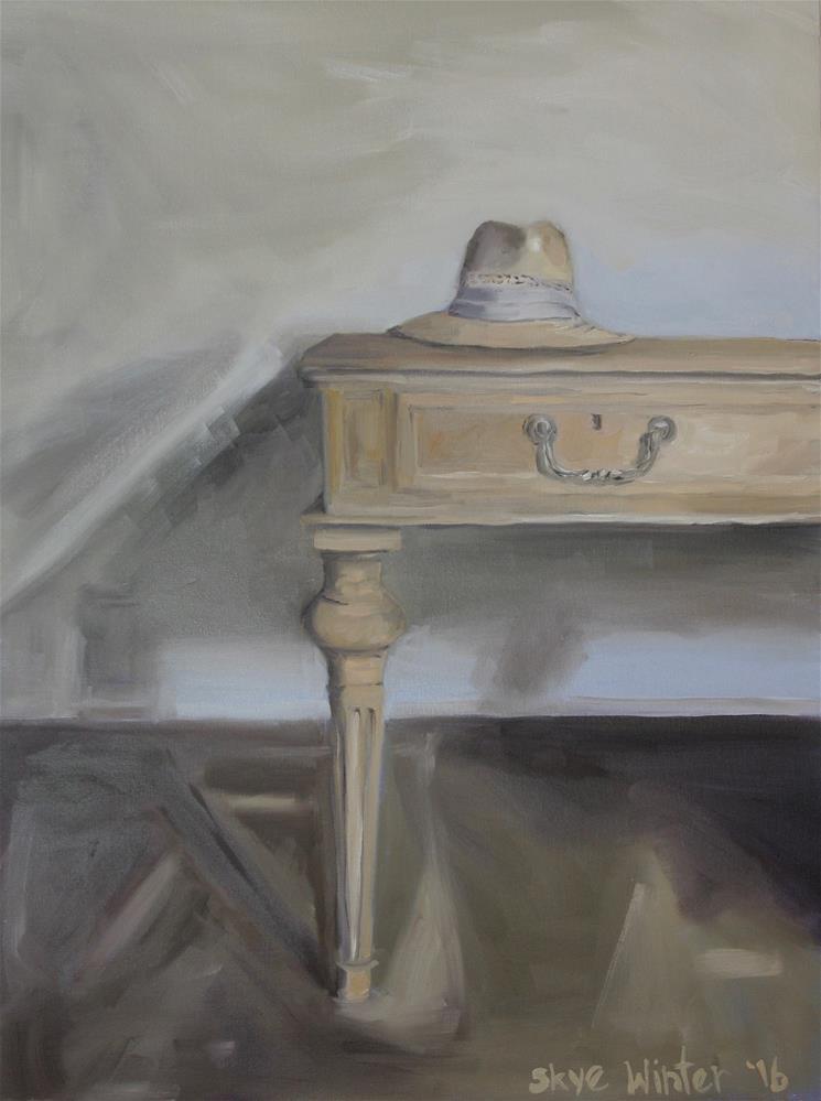 """Julie's Hat"" original fine art by Skye Coddington"