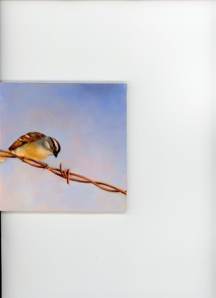 """""""Watching I"""" original fine art by Susanne Billings"""