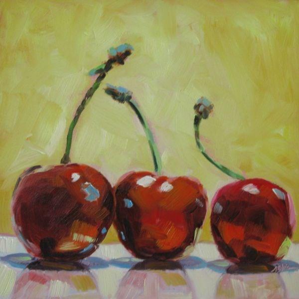 """""""THREE OF A KIND"""" original fine art by Mb Warner"""