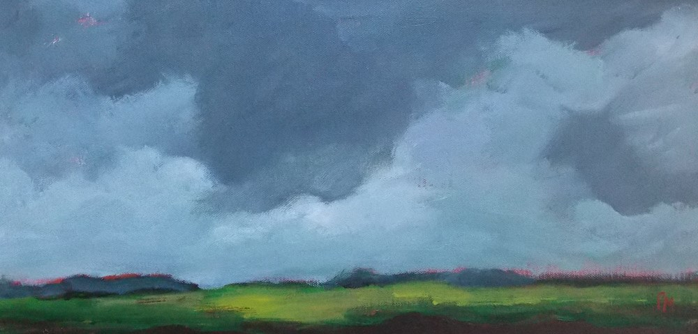 """July Afternoon"" original fine art by Pamela Munger"