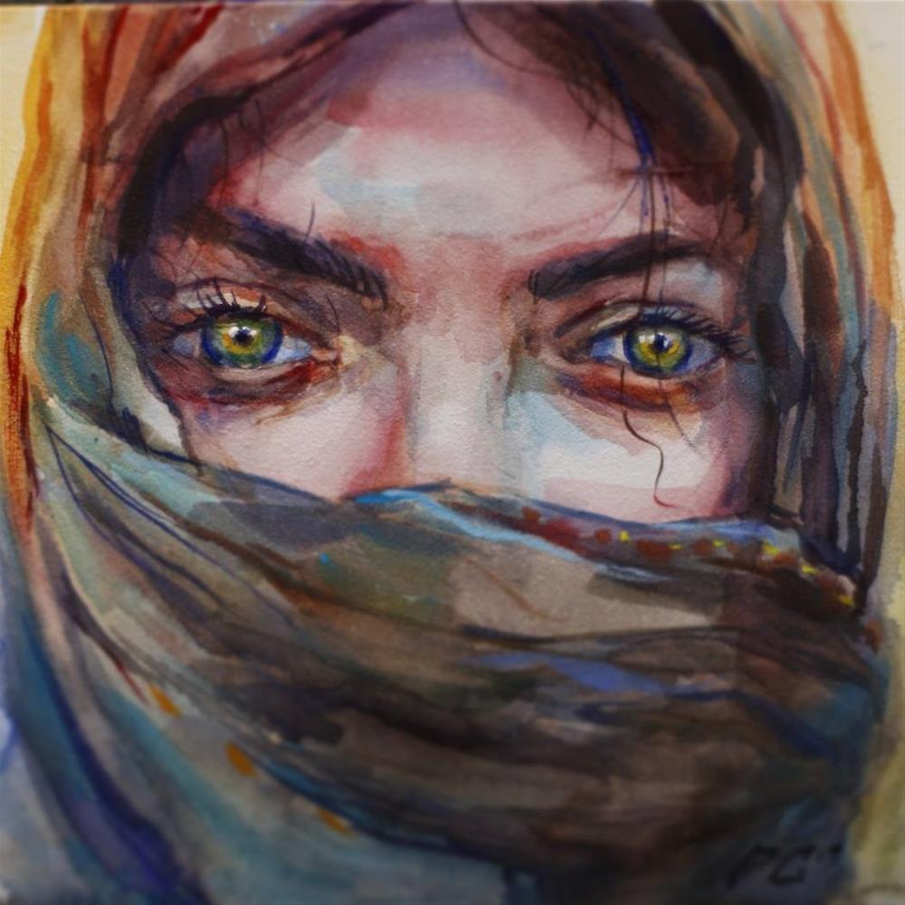 """Mute"" original fine art by Dimitriy Gritsenko"
