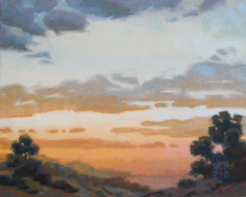 """""""Evening Calm"""" original fine art by Les Dorscheid"""