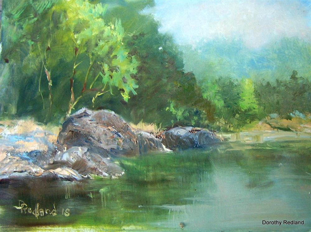 """Below Regan Wells"" original fine art by Dorothy Redland"