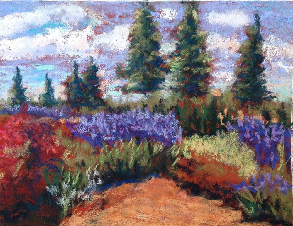 """""""Summer Garden"""" original fine art by Kristen Dukat"""