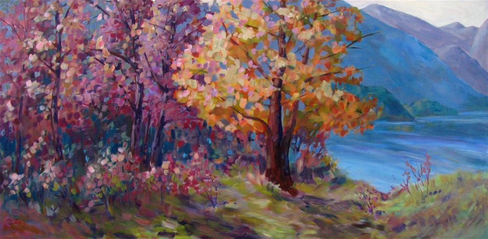 """A Special Place"" original fine art by Melissa Gannon"